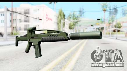 H&K XM8 Silenced for GTA San Andreas
