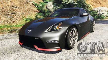 Nissan 370Z Nismo Z34 2016 [add-on] for GTA 5