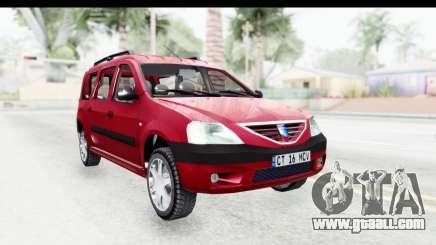 Dacia Logan MCV for GTA San Andreas