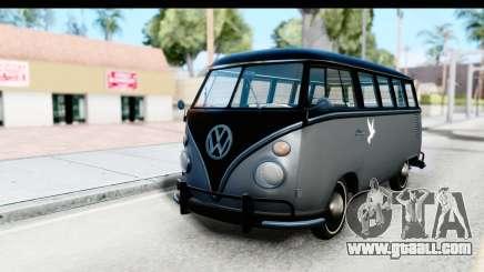 Volkswagen Transporter T1 Deluxe Bus for GTA San Andreas