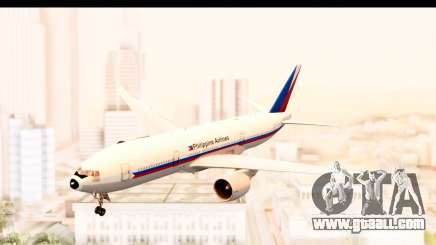 Boeing 777-200LR Philippine Airline Retro Livery for GTA San Andreas
