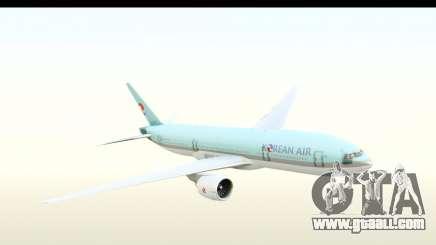 Boeing 777-200ER Korean Air for GTA San Andreas