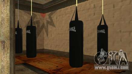 LonsDale punching bag for GTA San Andreas