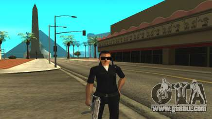Skin of a female officer for GTA San Andreas
