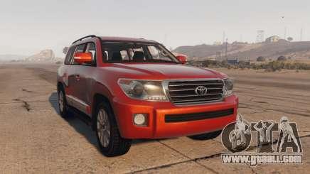 Toyota Land Cruiser 2013 for GTA 5