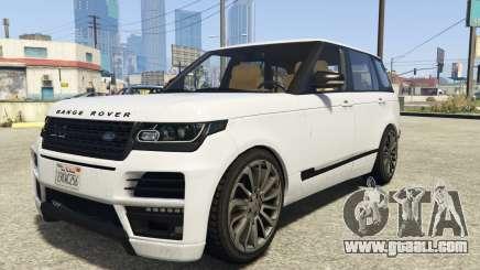 Land Rover Range Rover Startech for GTA 5