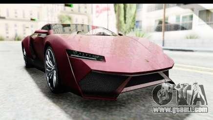 GTA 5 Pegassi Reaper v2 IVF for GTA San Andreas