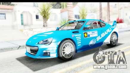 Subaru BRZ Rally for GTA San Andreas