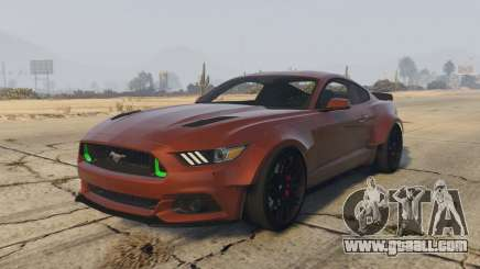 Ford Mustang GT Premium HPE750 Boss for GTA 5
