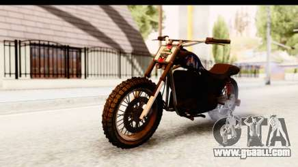 GTA 5 Western Cliffhanger Custom v2 IVF for GTA San Andreas