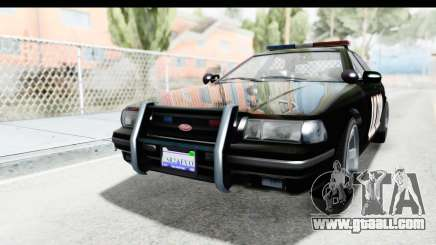 Vapid ULTOR Police Cruiser for GTA San Andreas