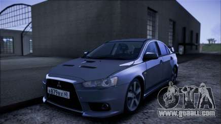 Mitsubishi Lancer GVR for GTA San Andreas