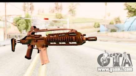 SCAR-LK Green for GTA San Andreas