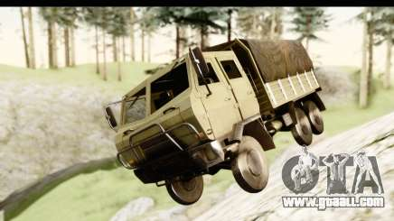 Dongfeng SX Military Truck for GTA San Andreas