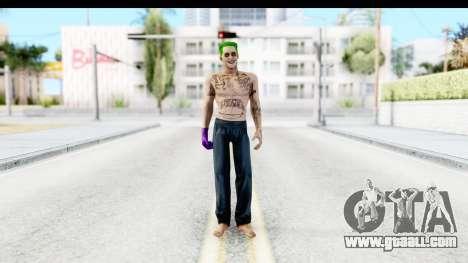 Suicide Squad - Joker v1 for GTA San Andreas second screenshot