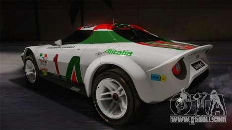 Lancia Stratos for GTA San Andreas left view