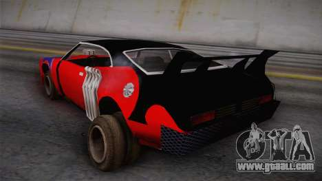 Ford Falcon 1972 Red Bat for GTA San Andreas left view