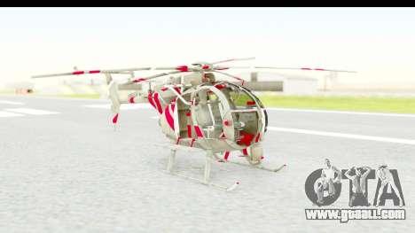 Smaga Sparrow Helis Military Version for GTA San Andreas
