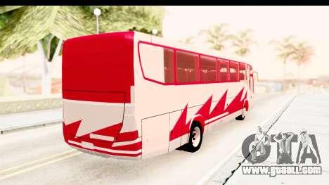 Smaga Bus for GTA San Andreas back left view