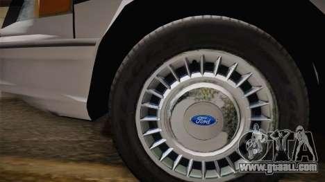 Ford Crown Victoria 1997 El Quebrados Police for GTA San Andreas right view