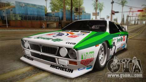 Lancia Rally 037 Stradale (SE037) 1982 Dirt PJ3 for GTA San Andreas