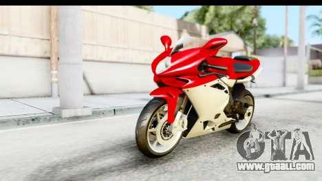 MV Agusta F4 for GTA San Andreas