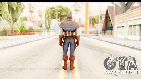 Marvel: Ultimate Alliance 2 - Captain America for GTA San Andreas third screenshot