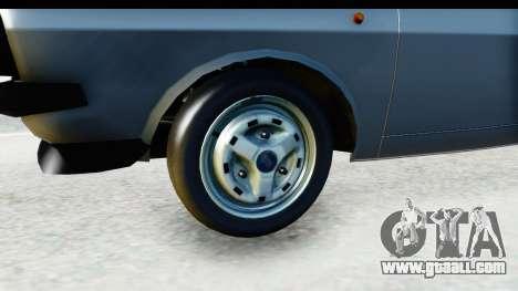 Dacia 1300 Sport Cabrio for GTA San Andreas back view
