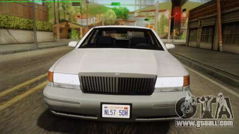 Willard Elegant IVF for GTA San Andreas right view