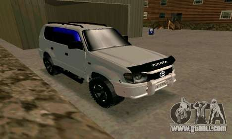 Toyota Land Cruiser 95 for GTA San Andreas right view
