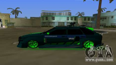 VAZ 2114 DPS Tuning for GTA Vice City left view