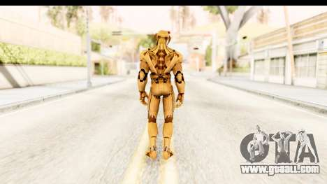 Marvel Heroes - Ultron Gold AoU for GTA San Andreas third screenshot