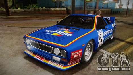 Lancia Rally 037 Stradale (SE037) 1982 HQLM PJ3 for GTA San Andreas