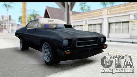 Holden Monaro 1972 Nightrider for GTA San Andreas right view