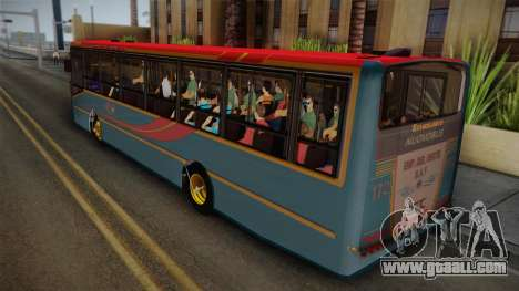 Nuovobus MB OF1418 Linea 302 for GTA San Andreas left view