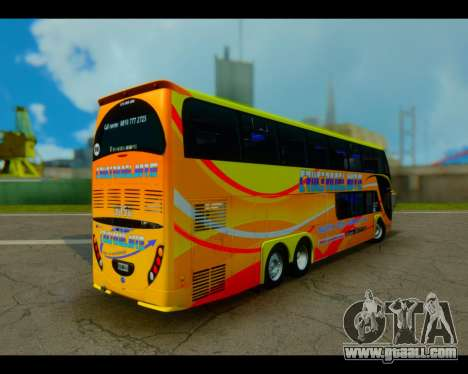 Metalsur Starbus II CRUCERO DEL NORTE for GTA San Andreas left view