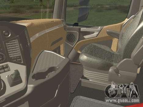 Mercedes-Benz Actros Mp4 6x2 v2.0 Bigspace for GTA San Andreas upper view