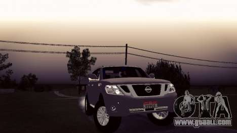 Nissan Patrol for GTA San Andreas