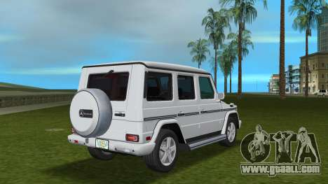 Mercedes-Benz G500 W463 2008 for GTA Vice City right view