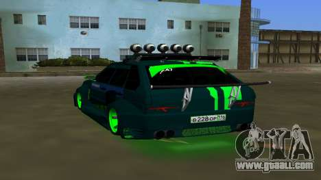 VAZ 2114 DPS Tuning for GTA Vice City back left view
