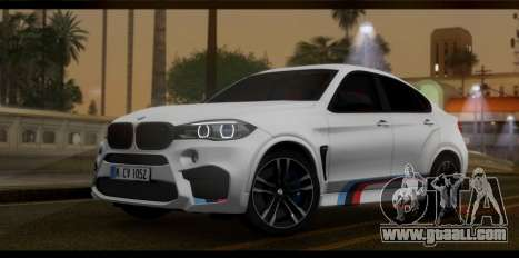 BMW X6M F86 M Performance for GTA San Andreas