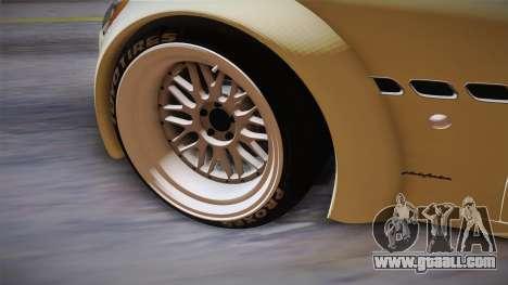 Maserati Gran Turismo Rocket Bunny for GTA San Andreas inner view