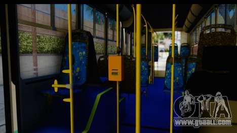 Metrobus de la Ciudad de Mexico for GTA San Andreas back view