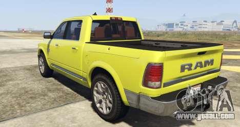 GTA 5 Dodge Ram Limited 2016 left side view