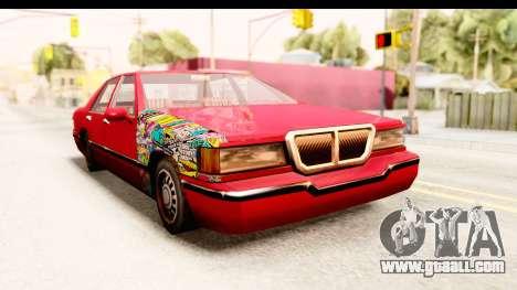 Elegant Sticker Bomb for GTA San Andreas