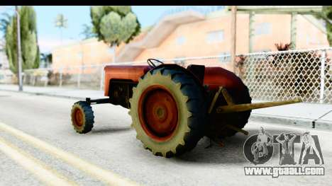 Fireflys Tractor for GTA San Andreas left view