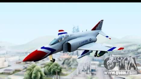 F-4 Phantom II Thunderbirds for GTA San Andreas