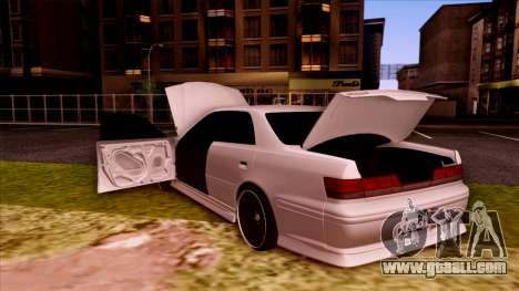 Toyota Mark II for GTA San Andreas upper view