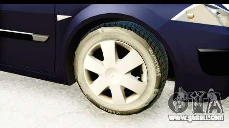 Renault Megane 2 Sedan 2003 v2 for GTA San Andreas back view