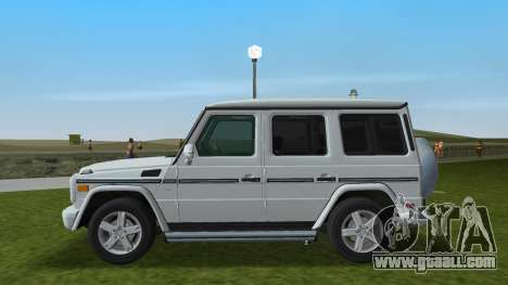 Mercedes-Benz G500 W463 2008 for GTA Vice City left view